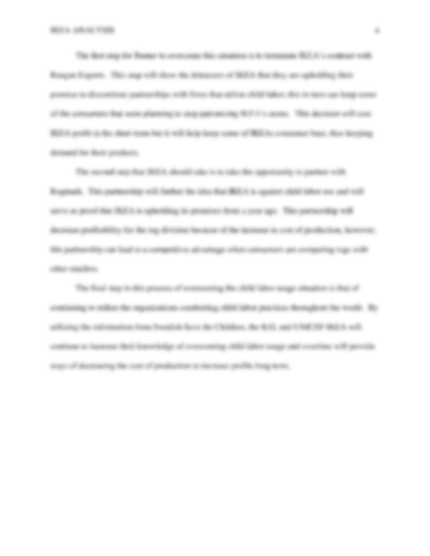 Case analysis essays