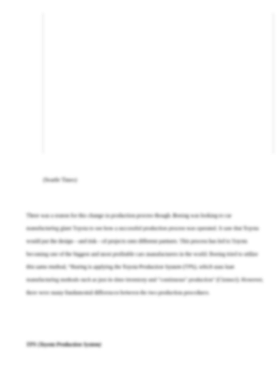 Case Study Of Boeing - Words | Cram