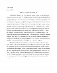 EAR 117 Recitation: Assignment