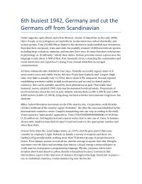 6th busiest 1942, Germany and cut the Germans off from Scandinavian