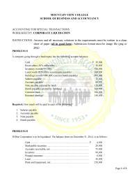 05 CORPORATE LIQUIDATIONINSTRUCTIONS